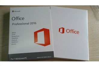 China Etiqueta original Microsoft Office do COA 2016 pro genuínos mais o sistema operacional fornecedor