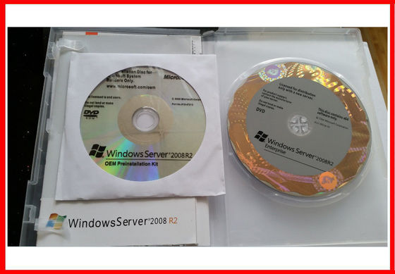 China 32 / Código chave do software de 64 bocados, OEM R2 de Windows 2008 do servidor de Microsoft 25 Cal fornecedor