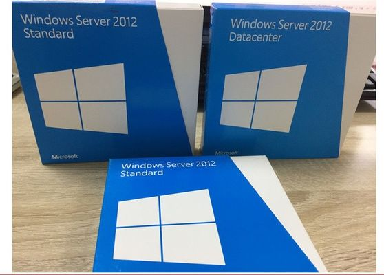 China 2 caixa varejo do processador central Windows Server 2012, standard edition R2 de Windows Server 2012 fábrica